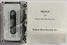 PRINCE ' 7 ' Marley Marl Hip Hop Version STUDIO Cassette Warners UNRELEASED Rare