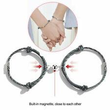 Mode Paar Partner Armbänder Partnerarmband Schmuck Geschenk Magnetischer Schmuck