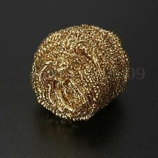 Reuseable Weld Soldering Solder Iron Tip Cleaner Steel Cleaning Wire Sponge Ball