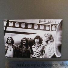Led Zeppelin Flexi-Magnet; Classic Tour Airplane Savage Photo; Zeplin; Zepplin