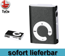 MP3 Player Mini Clip Musik Micro SD bis 32GB + Zubehörpaket