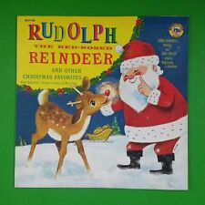 RUDOLPH THE RED NOSED REINDEER WLP148 LP Vinyl VG+ Cover VG++