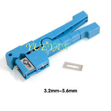 Ideal 45-163 Coaxial Cable Stripper/Fiber Optic Cable Stripper: 1/8 to 7/32 in.