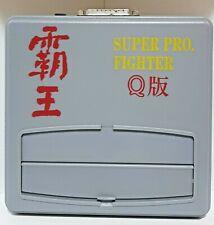 RARE Super Fighter Pro Q & PAL SNES, Controller, 2 PSUs, 1 Game, 1 Disk, AV Lead