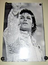 """Michael Jackson / In concert - B&W poster / Exc. New cond. / 15 X 23"""""""