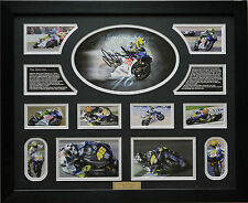 Valentino Rossi Limited Edition Signed Framed Memorabilia