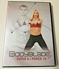 Bodyblade Super 6 & Power 10 Workout Motivational Training DVD Sealed NIB