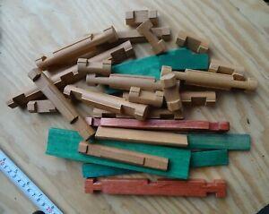 Lincoln Logs Lot - 25 pieces