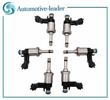 6Pcs Fuel Injector For Buick Enclave Chevy Camaro Traverse GMC Cadillac CTS 3.6L