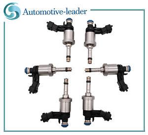 6Pcs Fuel injectors For Buick Chevrolet Camaro Traverse GMC Acadia 3.6L 12638530