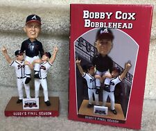 Bobby Cox Carried Off SGA Bobblehead & HOF PostCard  Atlanta Braves 2016