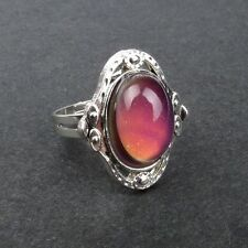 Chic Fashion 1PC Vintage Adjustable Changing Color Mood Ring Temperature