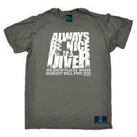 Scuba Diving T-Shirt Funny Novelty Mens tee TShirt - Always Be Nice To Diver