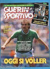 GUERIN SPORTIVO-1987 n.23- VOELLER-VAN BASTEN BRAVO 87- NO INSERTO