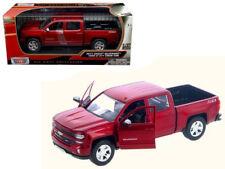 2017 Chevrolet Silverado 1500 LT Z71 Crew Cab Red 1:24 Model - 79348RD *