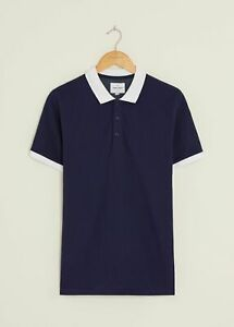 Peter Werth New Mens Corp Polo Shirt - Navy