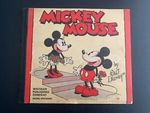 1932-1933 MICKEY MOUSE Comic Book #948 Whitman Publishing Company - Nice Cond.!!