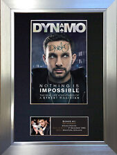 DYNAMO Signed Autograph Mounted Reproduction Photo A4 Print 388