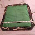 DOLL Blanket FOR BARBIE   * HAND MADE * TWO SIDED DESIGNS - CAMO