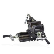 2-Achsen Maschinenschraubstock Schraubstock 75 mm Backenbreite Koordinaten Tisch
