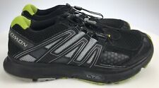 Men's 10 44 - Salomon XR Mission 1 Trail Running Shoes Black Yellow/Green