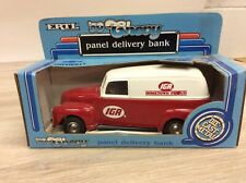 ERTL 1950 CHEVY PANEL DELIVERY BANK IGA HOMETOWN PROUD NEW NIB E2187