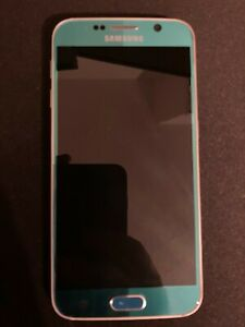Samsung Galaxy S6 32GB 5.1in Unlocked Smartphone - Blue Topaz