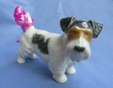 "Sealyham Cesky Terrier Keramos Austria 4"" Dog"