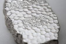 Tombstone 5 oz .999 Silver Nugget USA Made Bullion AG-47 Bar With Mint Bag & COA