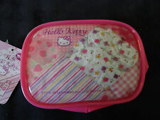 Sanrio Hello Kitty Vinyl Case Make Up Accessories Travel