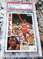 MICHAEL JORDAN 1984 Topps GLOSSY GOLD SP Rookie Card RC PSA 9 MINT 1992 Bulls $$