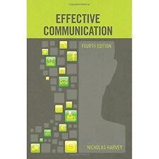 Effective Communication by Nicholas Harvey | Paperback Book | 9780717159765 | NE