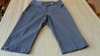 Women's Size 8   Swing Bette & Court Golf Capri's -  Pants -gray TANYA FIT -nwot