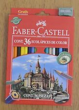FABER CASTELL 36 differents colored pencils + Shaperner - Eco friends Brazil