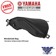 Yamaha Sidewinder & SRViper Snowmobile Windshield Bag SMA-8LR21-00-BK