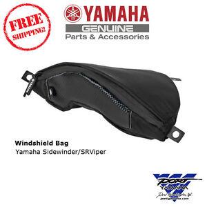 Yamaha Sidewinder & SRViper Snowmobile Windshield Bag SMA-8LR21-00-BK