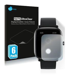 6x Screen Protector for Huami Amazfit GTS 2 mini Plastic Film Invisible Shield