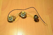 1975 Fender Telecaster / Precision Bass Pots & Wiring Harness.