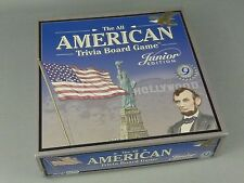 The All American Trivia Board Game Jr. Edition 2001 / Onset Media / Ages 9 & Up