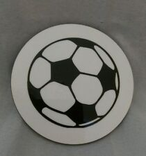 Round football coaster  - ideal gift