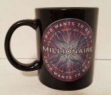 Vintage Who Wants to Be a Millionaire Coffee Team Mug Cup Regis Philbin Host