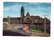 Germany - Krefeld, Hauptbahnhof - Vintage Postcard