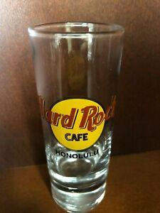 "Hard Rock Cafe HONOLULU Shot Glass 4"""