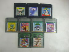 Lot of 7 Nintendo Gameboy Color Games Wario Land 3, Men In Black, Monsters Inc