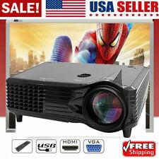 Portable Mini LED Projector 7000 Lumens Home Cinema Theater 1080P 3D HDMI AV US