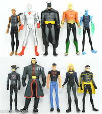 10 pcs DC Universe Young Justice League Teen Titans Batman Flash action Figures