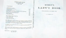 Godey's Lady's Book - October 1859 - Reprint Fashion Monthly