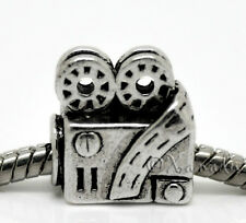 Movie Film Projector European Bead For European Charm Bracelet Necklace Chains