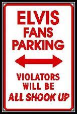 Elvis Parking Sign - Cross Stitch Chart/Pattern/Design/XStitch