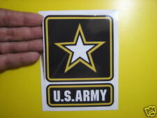 """BEST PRICE!!! LOT OF 10 US ARMY DECAL STICKER  4"""" X 5"""""""
